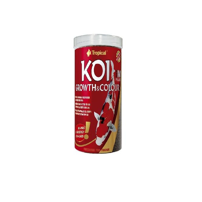 Ração Pond Koi Growth Colour S Pel 320 Gr