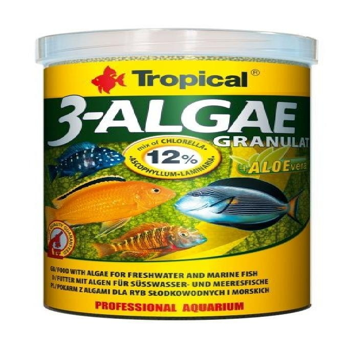 Racao 3-algae granulat 440gr