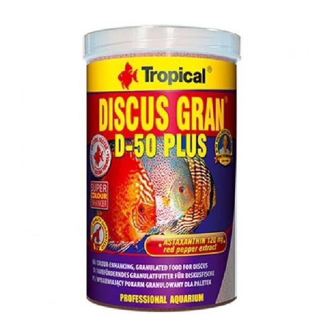 Ração Discus Gran D-50 Plus 220gr