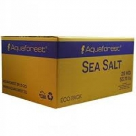 SAL AQUAFOREST SEA SALT 25KG CAIXA