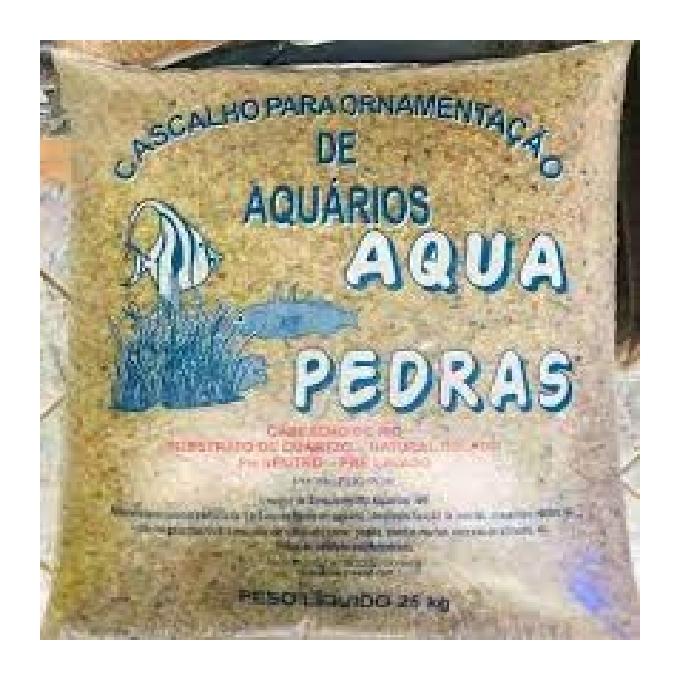 Cascalho Rio 00/0/01/02 25kg
