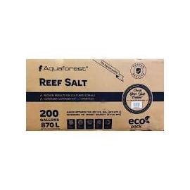 sal aquaforest reef salt 25kg caixa