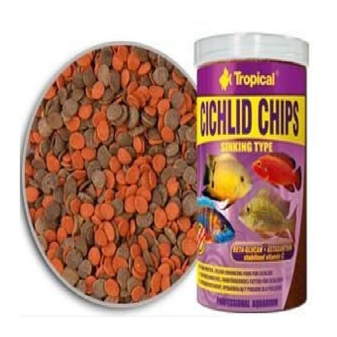 Racao cichlid chips sinking type 130 gr