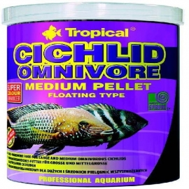 Racao cichlid omnivore medium pellet 18