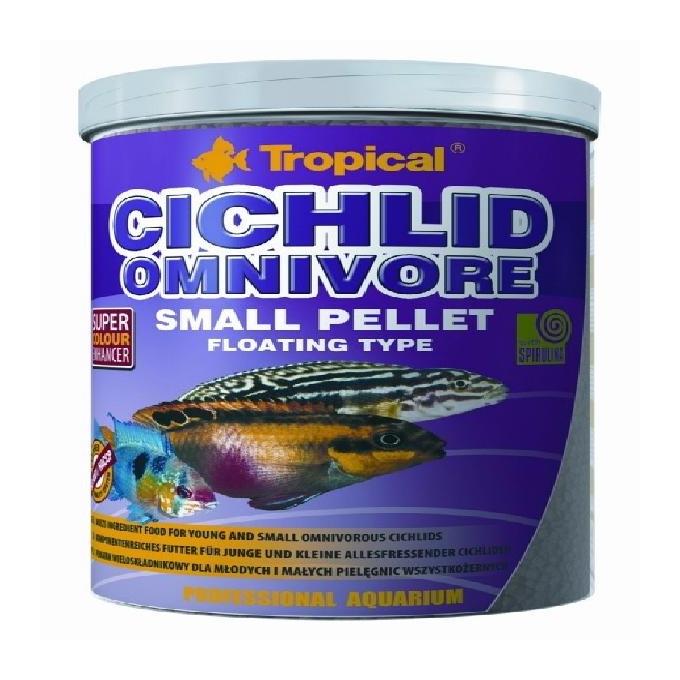 Racao cichlid omnivore small pellet 360