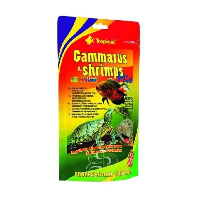 Racao gammarus shrimps mix 130 gr