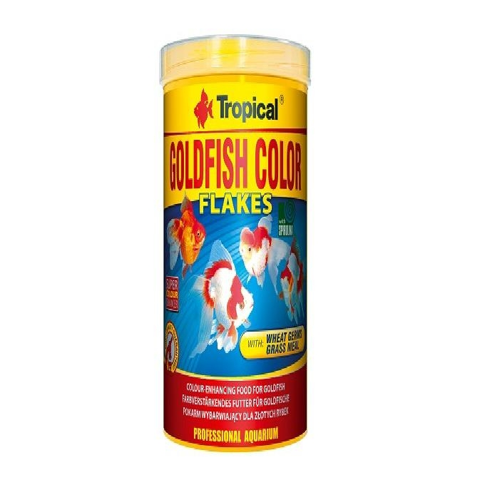 Racao goldfish color flakes 20gr