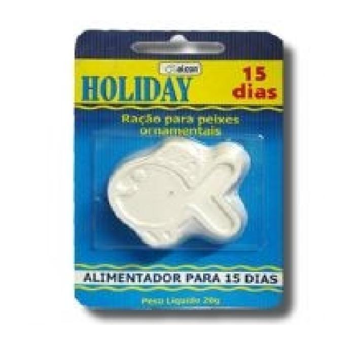 Racao holiday 15 dias