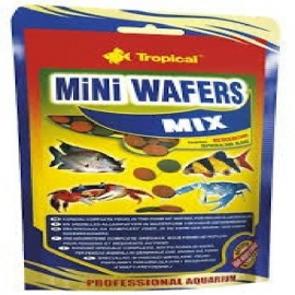 Racao mini wafers mix tropical 18gr sac