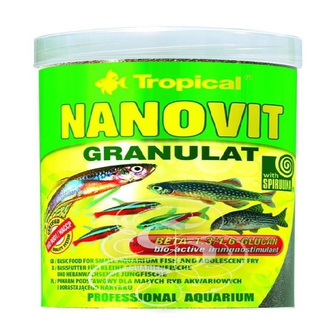 Racao nanovit granulat 70 gr