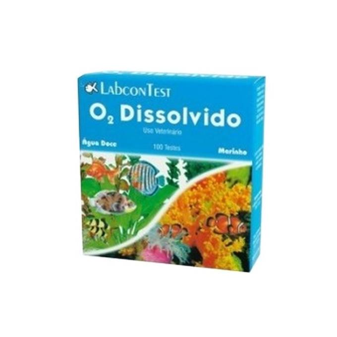 Teste o2 dissolvido labcon